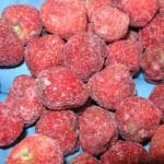 Imagen fresas descartado