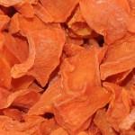 Imagen trozos de zanahoria deshidratados aceptados