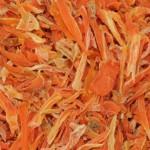 Imagen Zanahoria deshidratada trozos descoloridos
