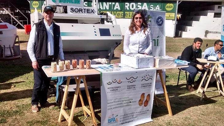 Buhler Sortex en la Sociedad Rural de Río Cuarto